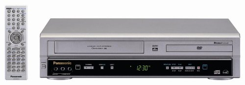 Remanufactured Panasonic PV-D734S Double Feature DVD/VCR Com