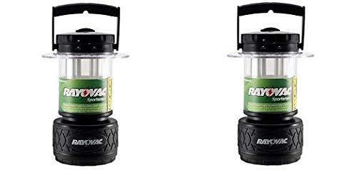 Rayovac Sportsman 300 Lumen 8D Twin Tube Fluorescent Lantern (SP8DTP4) ()