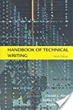Handbook of Technical Writing, Brusaw, Charles T. and Alred, Gerald J., 0312166923