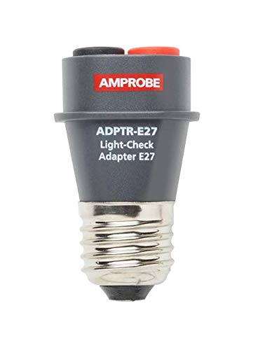 Amprobe ADPTR-E27 Light-Check Adapter by Amprobe