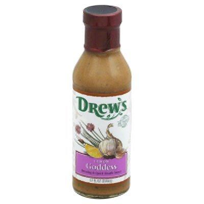 Drews All Natural Lemon Goddess Dressing and Quick Noodle Sauce, 12 Fluid Ounce - 6 per ()