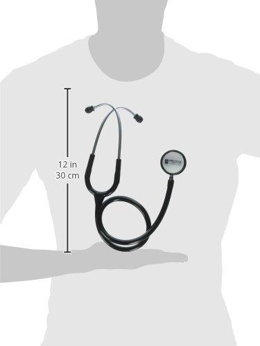 Prestige Medical Clinical Lite Stethoscope, Black