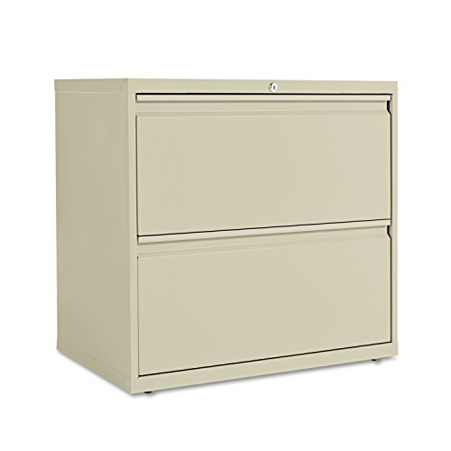 - Alera LF3029PY Two-Drawer Lateral File Cabinet, 30w X 19-1/4d X 28-3/8h, Putty