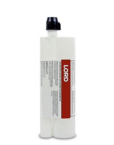 (LORD LO3020503-1 Gray 406/19 GB 4:1 Acrylic Adhesive Cartridge, 12.68 fl oz)