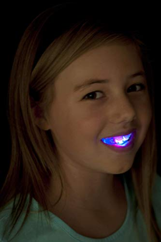Smiffys Flashing Mouth Piece with Four Coloured LEDs -