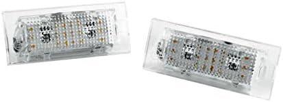 6000K Xenon wei/ß ca mit E4 Pr/üfzeichen Abnahme Frei Led Kennzeichenbeleuchtung F/ür diverse Fahrzeugmodelle