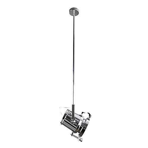 XAJGW Mini Metal Industrial Adjustable Ceiling Spotlight Retro Vertical Light Pendant Galleries Residential