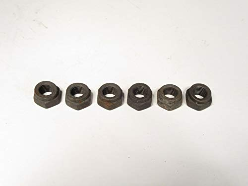 EPC Connecting Rod Nuts (Qty 6) Fits MGB 1969-1980 New Old Stock Factory OE 13H3916