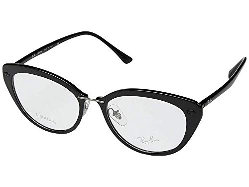 Ray-Ban Unisex 0RX7088 54mm Shiny Black One ()