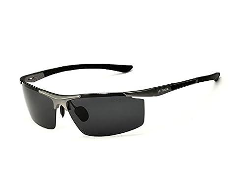 Veithdia 6588 Aluminium Magnésium Lunettes de soleil polarisées UV400  Sports Hommes Revêtement Miroir de conduite Lunettes 295369c8bc78
