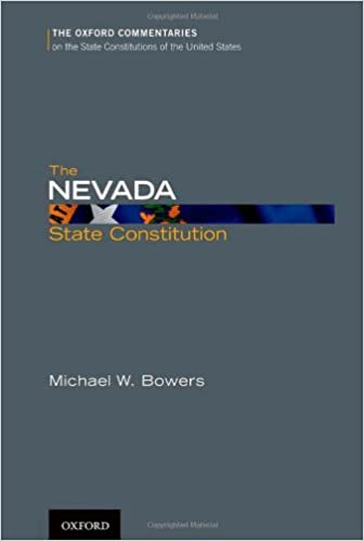The nevada state constitution oxford commentaries on the state the nevada state constitution oxford commentaries on the state constitutions of the united states michael w bowers 9780199778980 amazon books fandeluxe Image collections