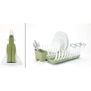 Amazon Com Full Circle Smart Rack Foldable Dish Rack