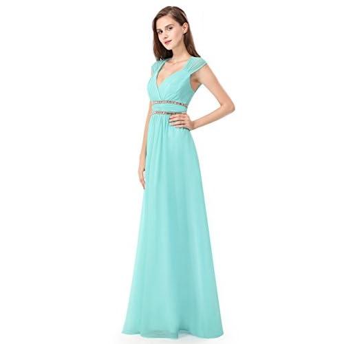 389e91a7ff0 ... Dresses Ever-Pretty Women s Elegant V-Neck Sleeveless Formal Long  Evening Dress 08697. Sale!