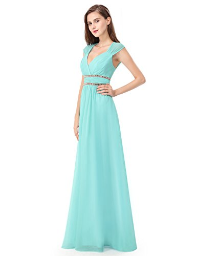 Buy Ever-Pretty Women\'s Elegant V-Neck Sleeveless Formal Long ...