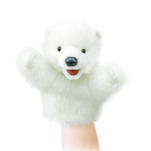 - Folkmanis Puppet Little Polar Bear