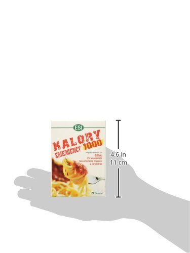 Esi Kalory Emergency 1000 Integratore alimentare - 24 Ovalette