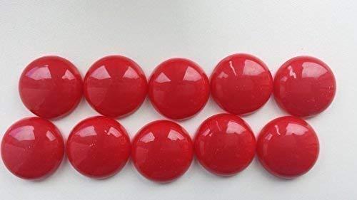 10 NUOVI CONVENIENTI magneti colorati MAGNETE ROSSO PER BACHECA OFFICINA frigorifero Bastekrace