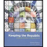 "Keeping the Republic, 4th Edition Essentials + Obama in the Oval Office, ""Barbour, Christine"" and Wright G, 1604266236"