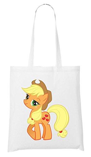 Applejack Pony Bag White