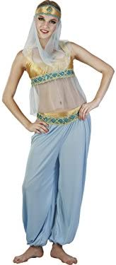 DISONIL Disfraz Bailarina Arabe Yasmin Mujer Talla XL: Amazon.es ...