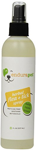EnduraPet Herbal Flea and Tick Spray for Pets (Organic Control Flea)