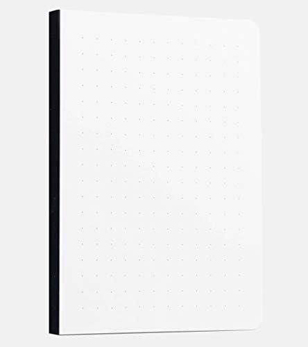 A5 Gepunktete Tagebucheinlage von Scribbles That Matter - Erstellen Sie Ihren eigenen einzigartigen Bujo - Life Organizer - Kombinieren Sie ihn mit farbigen Ärmeln Ihrer Wahl (gepunktet - 100 g / m²)