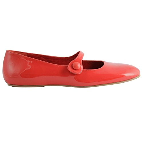 Paris Women's Flats Red Exclusif Ballet CFA1Hx1qw