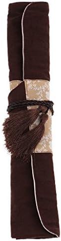 キャンバス ロールアップ式 収納袋 ペイントブラシ 絵ブラシ 画材 画筆 アクリル筆 油絵筆 水彩筆 毛筆 道具入れ 持ち運び便
