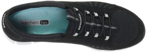 Skechers Sport Damen Gratis-In Motion Fashion Sneaker Schwarz-Weiss