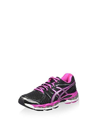 Asics Gel-glorify - Zapatillas de running Mujer Negro / Rosa / Plata
