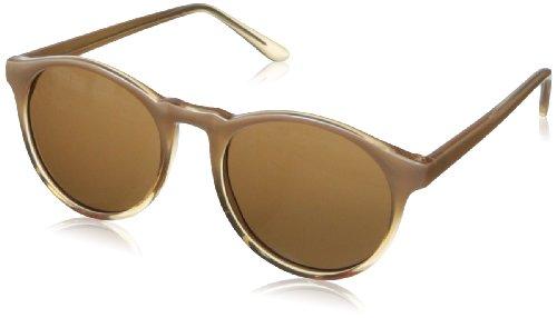 A.J. Morgan Unisex - Adult Grad School Round Sunglasses,Champagne,198 - Beige Sunglasses
