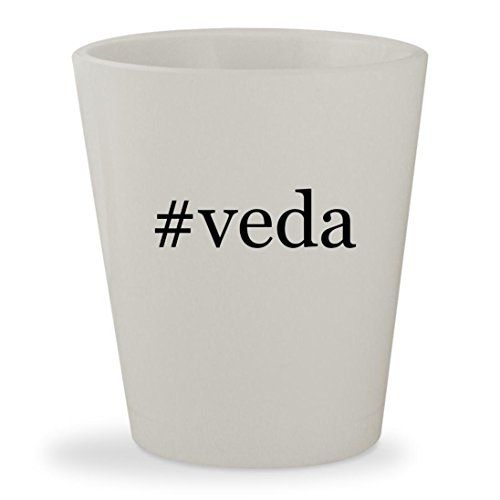 Price comparison product image #veda - White Hashtag Ceramic 1.5oz Shot Glass