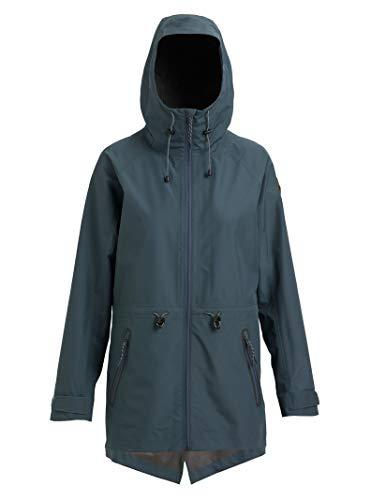 Burton Women's Gore-Tex 2l Packrite Parka, Dark Slate, Medium Burton 2l Gore Tex Jacket