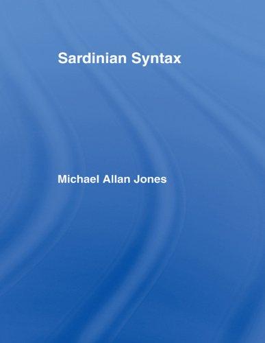 Download Sardinian Syntax (Romance Linguistics) Pdf