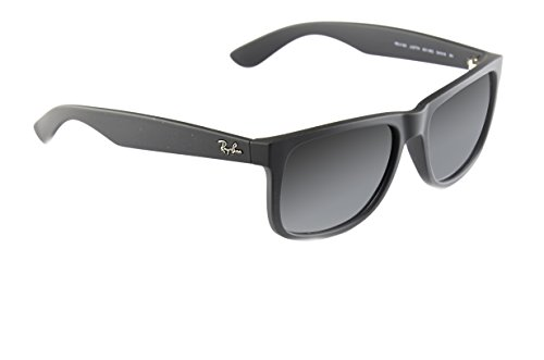 sol Justin RB4165 Polarized Non Unisex Black Ban Gafas de Matt Ray pwqTP