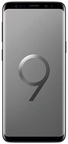 Samsung Galaxy S9 G9600 64GB Unlocked GSM 4G LTE Phone w/ 12MP Camera - Titanium Gray (Renewed)