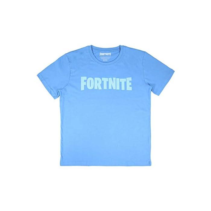 3163ENlC4PL Camiseta Fortnite - camiseta del famoso videojuego fabricada en algodón 100% Camiseta Fortnite hombre - ¡defiende tu honor! Cierre: Sin cierre