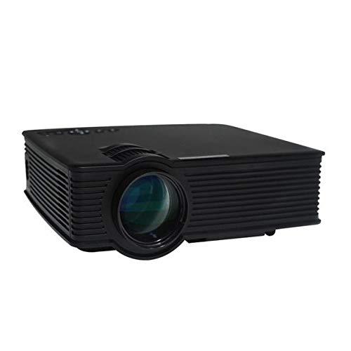 Lljin HD LED ホームシアター プロジェクタ ビデオプロジェクター サポート ホームモーブゲーム ミーティング B07PF21PX5