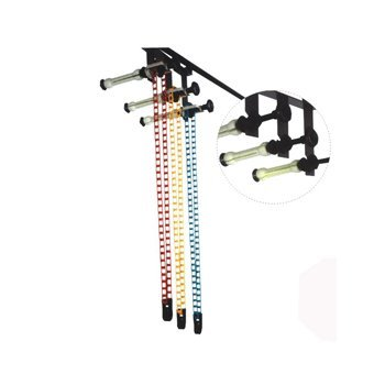 Ardinbir 3x Chain Drive Photography Background Backdrop Support System with Hooks, Rollers and Chains - Wall or Ceiling Mounted