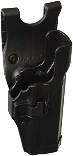 BLACKHAWK SERPA Level 2 Auto Lock Duty Holster, Size 04, Right Hand, (Beretta 92/96/M9 Std or A1 w/rails (NOT Brig/Elite)