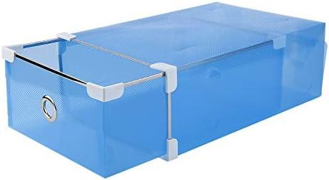 Chaussures à Style moitié de Transparent Boîte tiroir QorCxBEdeW