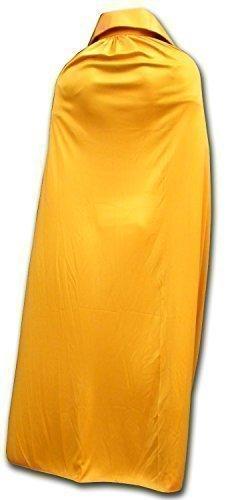 Capa de lucha libre mexicana tamaño adulto color dorado oscuro
