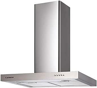 Corbero Campana 60 CCSD55060TSH 550 M3/H INOX: Amazon.es: Grandes electrodomésticos