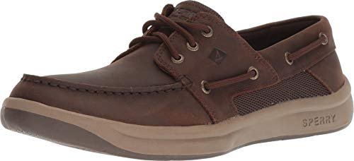 SPERRY Men's, Convoy 3-Eye Boat Shoe Chocolate 9 M (A Ha The Weight Of The Wind)