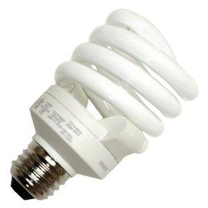 TCP 48918SS 18-watt 2700-Kelvin Full Springlamp CFL Shatter Coat