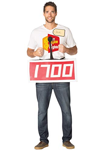 Price is Right Red Contestant Costume -