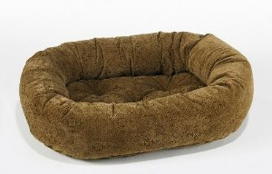 Bowsers Donut Bed, Medium, Pecan Filigree ()
