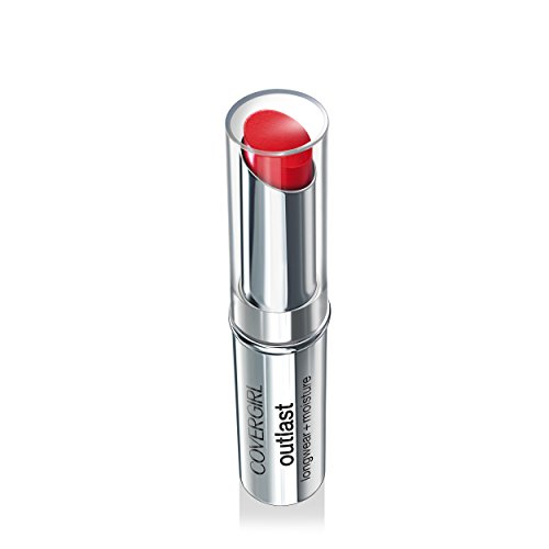 COVERGIRL Outlast Longwear Lipstick Red Revenge 920, .12 oz