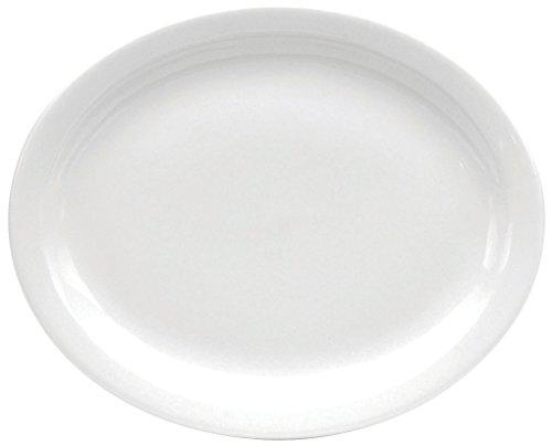 Oneida Foodservice F9000000343 Narrow Rim Oval Platter, 9.5