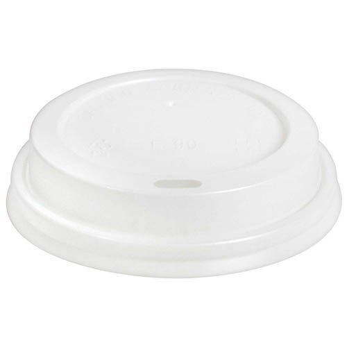 Disposable Insulated To Go Ripple Biodegradable Hot Coffee Cups with Lids [8 oz with Lid] by Berkley Square (Image #5)